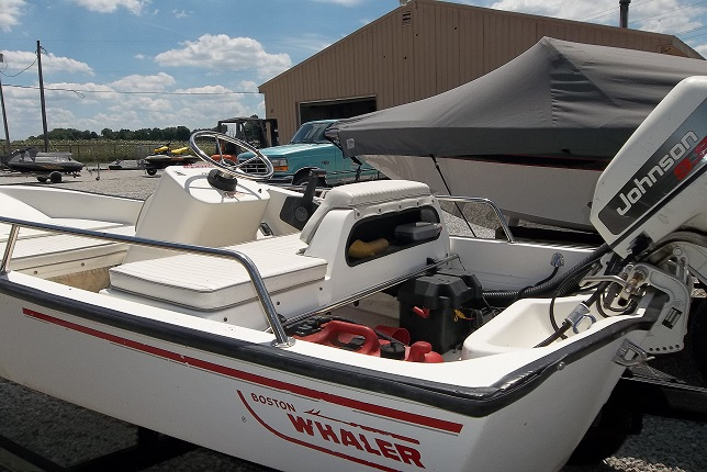 13' Boston Whaler Back