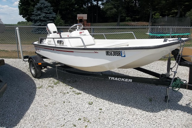 13' Boston Whaler Side